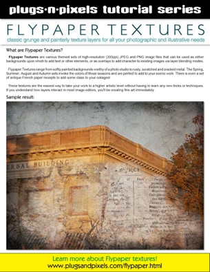 PDf tutorial covering the functionality of Flypaper textures
